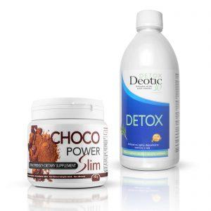 Výhodný balíček Detox Deotic 30 aChoco Power Slim